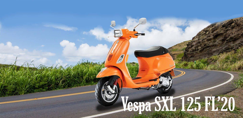 VESPA SXL 125 FL'20 PP BANNER