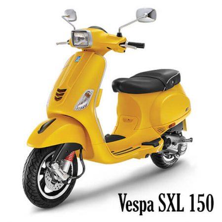 VESPA SXL 150, Yellow