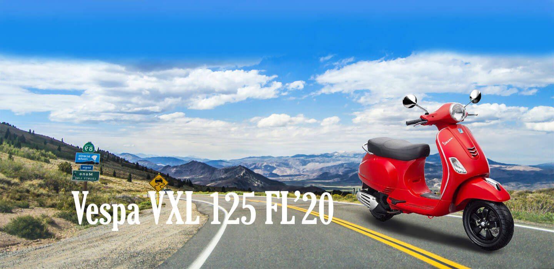 VESPA VXL 125 FL'20 PP BANNER