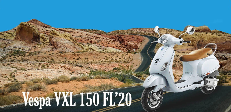 VESPA VXL 150 FL'20 PP BANNERN